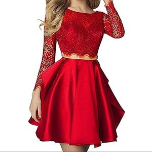 Dresses & Skirts - NWT 2 piece drk red homecoming/special event dress
